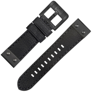 TW Steel NightRider NR3 Watch Strap Black 24mm