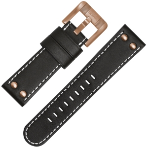 TW Steel TWA959 Watch Strap - Black 24mm