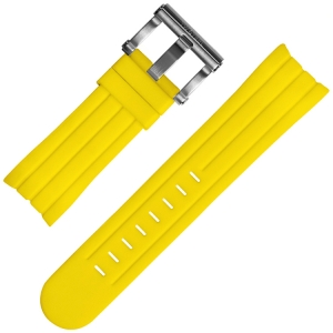 TW Steel Grandeur Tech Universal Watch Band Yellow Rubber