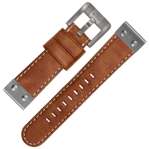 TW Steel Watch Strap CS15 - TWS15 Camel Leather Steel Ends 22mm
