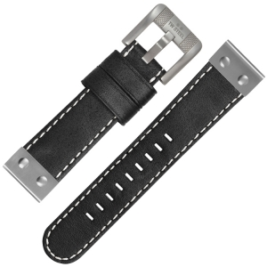 TW Steel Watch Strap CS6 - Black 24mm