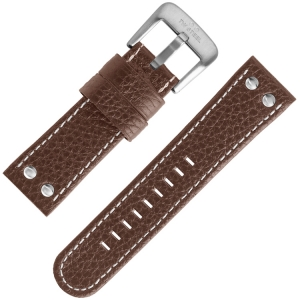 TW Steel Universal Watch Strap Brown Leather