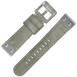 TW Steel Universal Watch Strap Gray Leather