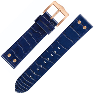 TW Steel Slim Line Watch Band TW1305, TW1309 - Blue 22mm