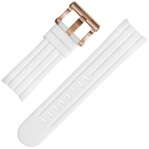 TW Steel Watch Strap TW133 White Rubber 24mm