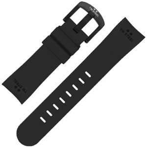 TW Steel Watch Band TW42 - Black Rubber 22mm