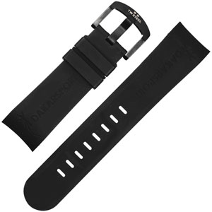 TW Steel Watch Band TW444 Dakar Sport - Black Rubber 22mm