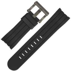 TW Steel Watch Strap TW613 Black Rubber 24mm