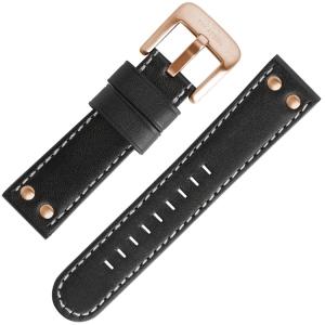 TW Steel Watch Strap TW417, TW419 Black 24mm