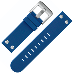 TW Steel Watch Band TW500 Blue Rubber 22mm