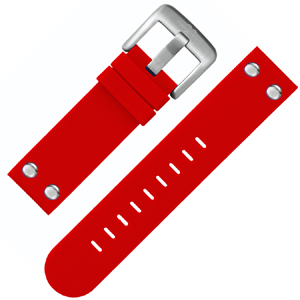TW Steel Watch Band TW510 Red Rubber 22mm