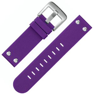 TW Steel Watch Band TW515 Purple Rubber 22mm