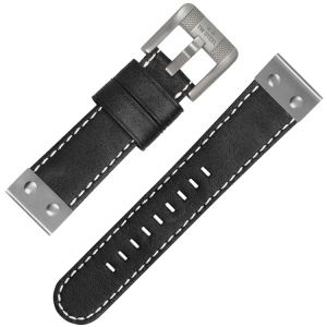TW Steel Watch Strap CS5 Black 22mm