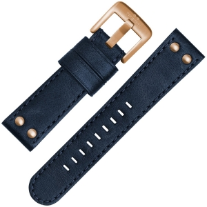 TW Steel Watch Strap CS61, CS63 Blue 22mm