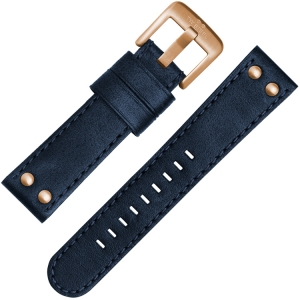 TW Steel Watch Strap CS62, C64 Blue 24mm