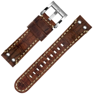 TW Steel Watch Strap MS3, MS5 Brown 22mm