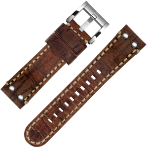 TW Steel Watch Strap MS4, MS6 Brown 24mm