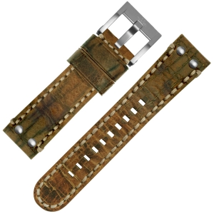 TW Steel Watch Strap MS12 Cognac 24mm