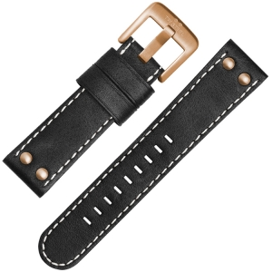 TW Steel Watch Strap CS71, CS73 Black 22mm