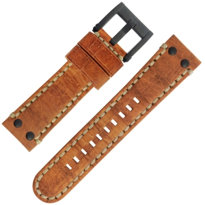 TW Steel Watch Strap MS34, MS36 Brown 24mm