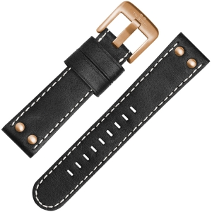 TW Steel Watch Strap CS72, CS74 Black 24mm