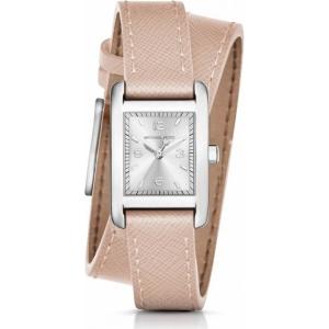 Michael Kors MK2440  Watch Strap Beige Leather