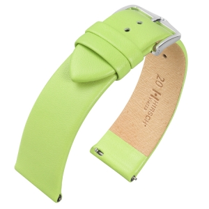 Hirsch Viazza Calf Skin Watch Strap with Quick Release Green