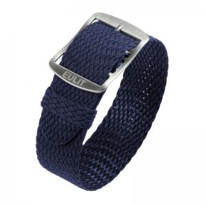 Eulit Perlon Watch Strap Baltic Navy Blue