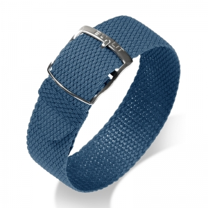 Eulit Perlon Watch Strap Kristall Blue