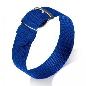 Eulit Perlon Watch Strap Panama Blue