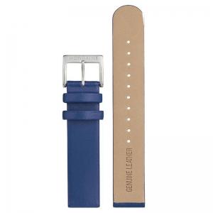 Mondaine Watch Band Bl;ue Leather 22mm