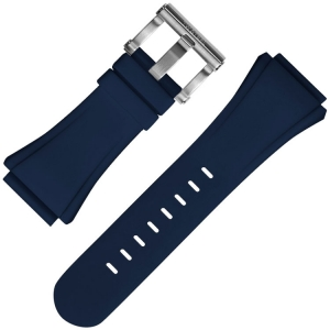 TW Steel Watch Strap CE4016 Kivanc, CE5007 Coronel WTCC CEO Tech 48mm - Blue Rubber