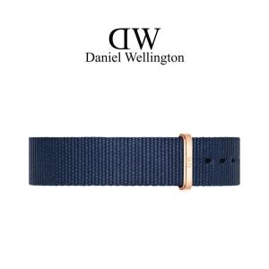 Daniel Wellington 18mm Classic Bayswater NATO Watch Strap Rose Golden Buckle