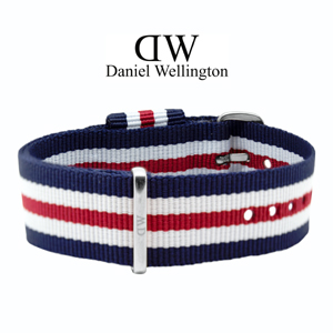 Daniel Wellington 20mm Classic Canterbury NATO Watch Strap Steel Buckle