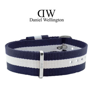 Daniel Wellington 18mm Classy Glasgow NATO Watch Strap Stainless Steel Buckle