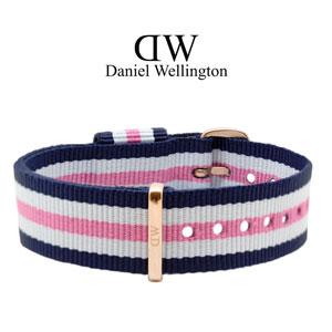 Daniel Wellington 18mm Classic Southampton NATO Watch Strap Rosegold Buckle
