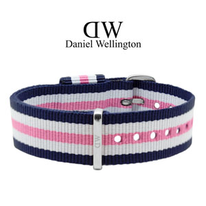 Daniel Wellington 18mm Classic Southampton NATO Watch Strap Stainless Steel Buckle