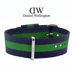 Daniel Wellington 20mm Classic Warwick NATO Watch Strap Steel Buckle