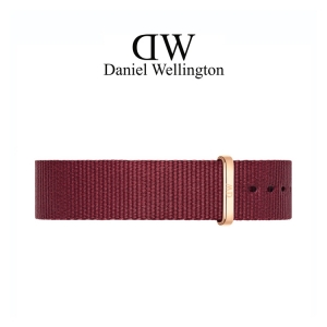 Daniel Wellington 18mm Classic Roselyn NATO Watch Strap Rosegold Buckle
