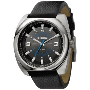 Diesel DZ1247 Watch Strap Black Leather