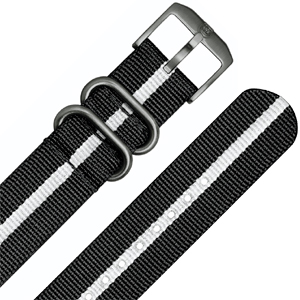 Luminox NATO Watch Strap Series 4200, 4221 ANU Black Nylon 23mm - FP.4220.20B