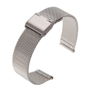 Mesh Watch Bracelet Fine Woven Steel