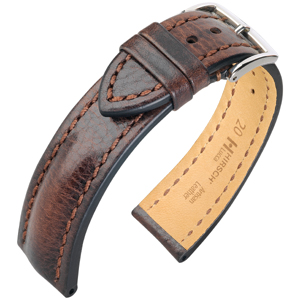 Hirsch Lucca Artisan Watchband Brown