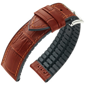 Hirsch Paul Performance Collection Brown/Black Leather/Caoutchouc 300m WR