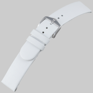 Hirsch Scandic Watch Band Calf Skin White