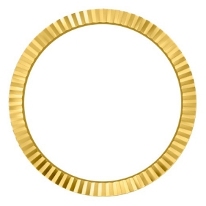 Marc Coblen / TW Steel Bezel 50mm Golden Steel Fluted - MCB50RE