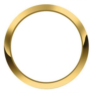 Marc Coblen / TW Steel Bezel 50mm Golden Steel Polished - MCB50SHINY