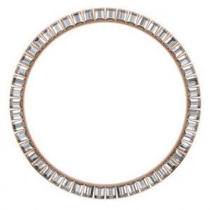 Marc Coblen / TW Steel Bezel 45mm Rosegold Steel White Crystals - MCB45R001