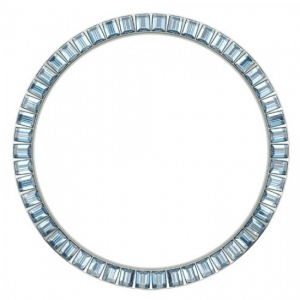 Marc Coblen / TW Steel Bezel 45mm Stainless Steel Blue Crystals - MCB45S211