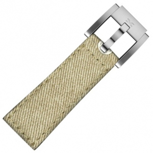 Denim Marc Coblen Watch Strap Khaki 22mm